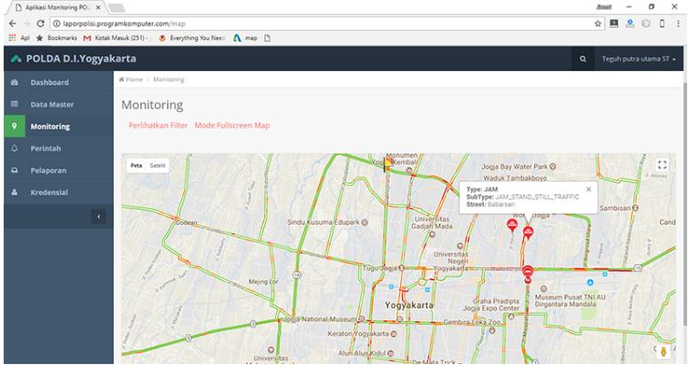 Aplikasi Tracking Karyawan